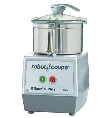 Robot Coupe Blixer 5 PLUS | Robot Coupe | 5,5 Liter| 1300W/400V | 2 Geschwindigkeiten: 1500/3000 UpM