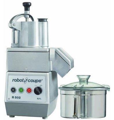 Robot Coupe Kombi Cutter & Gemüseschneider | Robot Coupe R502 | 1000W/400V | 5,5 Liter | 2 Geschwindigkeiten: 750/1500 UpM