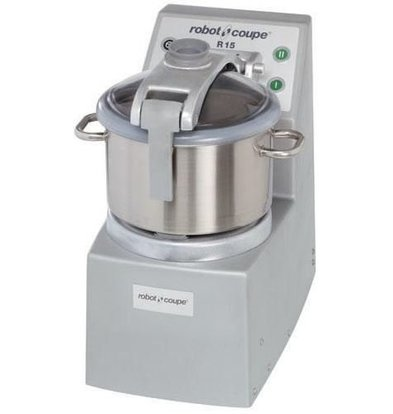 Robot Coupe Cutter | Robot Coupe R15 | 3000W/400V | 15 Liter | 2 Geschwindigkeiten: 1500/3000 UpM
