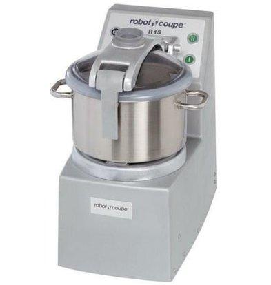 Robot Coupe Cutter | Robot Coupe R15SV | 3000W/400V | 15 Liter | Vakuum Funktion | 2 Geschwindigkeiten: 1500/3000 UpM