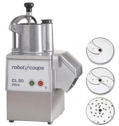 Robot Coupe Gemüseschneider | Robot Coupe CL50 Ultra Pizza | bis 250 Kg/St | Geschwindigkeit: 375 UpM