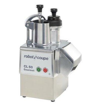 Robot Coupe Gemüseschneider | Robot Coupe CL50 Gourmet | bis 250 Kg/St | Geschwindigkeit: 375 UpM