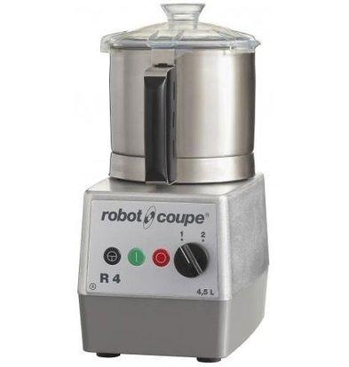 Robot Coupe Robot Coupe Cutter R4 | 400V | 4,5 Liter | Tischmodell | 2 Geschwindigkeiten: 1500/3000 UpM