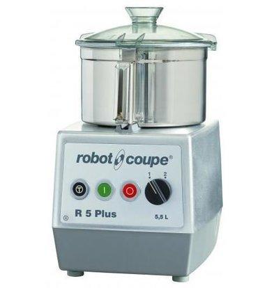 Robot Coupe Robot Coupe Cutter R5 PLUS | 5,5 Liter | 400V | Tischmodell | Geschwindigkeit: 1500/3000 UpM