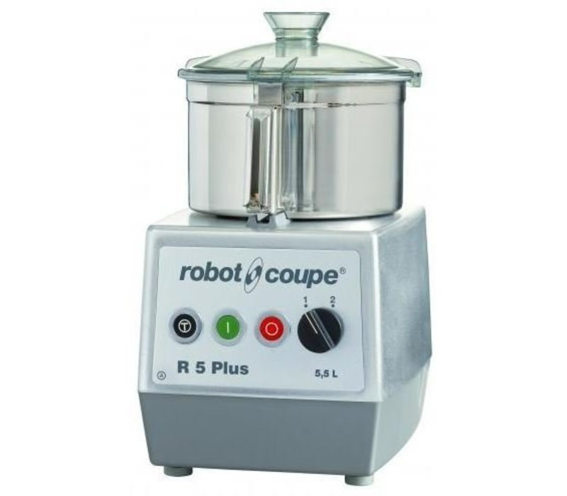 Robot Coupe Robot Coupe Cutter R5 PLUS   5,5 Liter   400V   Tischmodell   Geschwindigkeit: 1500/3000 UpM