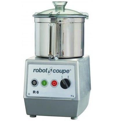 Robot Coupe Robot Coupe Cutter R6 | 400V | 7 Liter | Tischmodell | 2 Geschwindigkeiten: 1500/3000 UpM