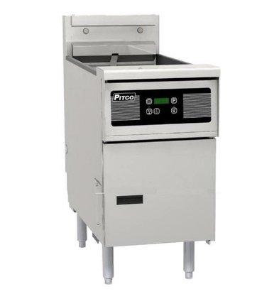 Pitco Elektro-Friteuse Digital | Pitco Solstice SE14 | 17kW | 23Kg | 60Kg/St | 397x873x864(h)mm