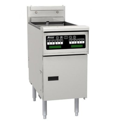 Pitco Elektro-Friteuse Computer | Pitco Solstice SE14T | 8,5kW | 11,5Kg | 75Kg/St | 397x873x864(h)mm