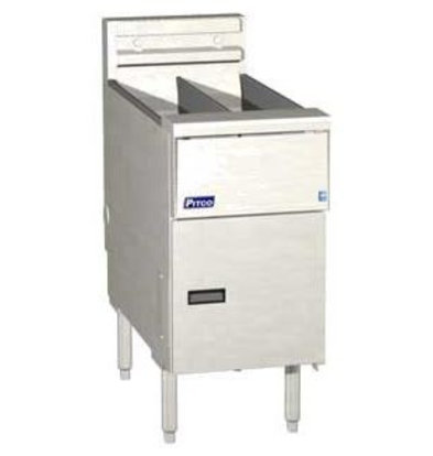 Pitco Elektro-Friteuse Solid State | Pitco Solstice SE14T | 8,5kW | 11,5Kg | 75Kg/St | 397x873x864(h)mm