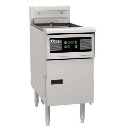 Pitco Elektro-Friteuse Digital | Pitco SE18 | 22kW | 41Kg | 105Kg/St | 499x873x864(h)mm