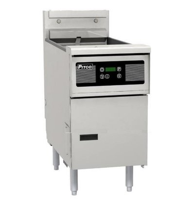 Pitco Gas-Friteuse Digital | Pitco Solstice SG14S | 32kW | 23Kg | 60Kg/St | 397x864x864(h)mm
