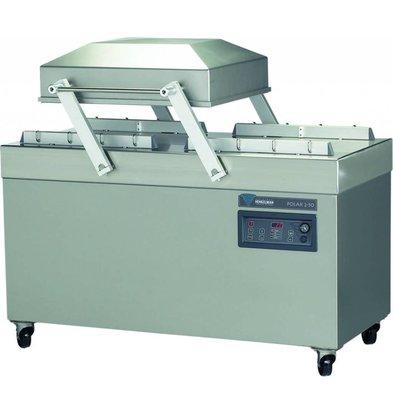Henkelman Vakuumierer Polar 2-50   Henkelman   100m3 / 15-40 sek   Kammerabmessungen: 620x500x(h)240mm