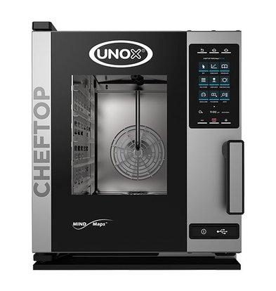 Unox Kombidämpfer Plus Elektro Combi Ofen | XECC-0513-EPR | 5 x GN 1/1 | 400V | 535x862x649(h)mm