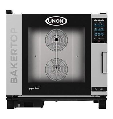 Unox Kombidämpfer Plus Elektro Combi Ofen | XEBC-06EU-EPR | 6 x 600x400mm | 400V | 860x957x843(h)mm