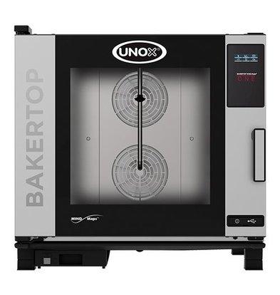Unox Kombidämpfer One Elektro Combi Ofen | XEBC-06EU-E1R | 6 x 600x400mm | 400V | 860x957x843(h)mm