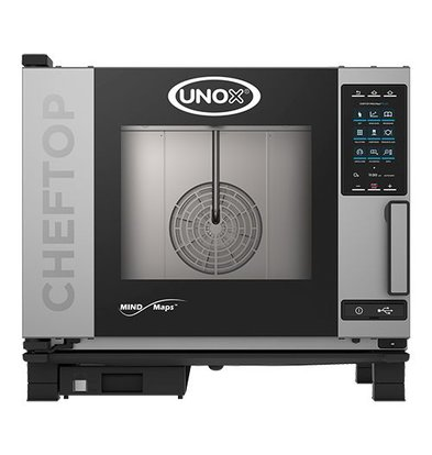 Unox Kombidämpfer Plus Elektro Combi Ofen | XEVC-0511-EPR | 5 x GN 1/1 | 400V | 750x773x675(h)mm