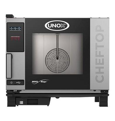 Unox Kombidämpfer One Elektro Combi Ofen | 5 x GN 1/1 | 400V | 5 Etage