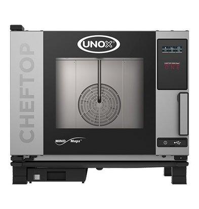 Unox Kombidämpfer Elektro Combi Ofen | XEVC-0511-E1R | 5 x GN 1/1 | 230-400V | 750x773x675(h)mm