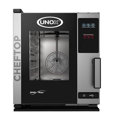 Unox Kombidämpfer One Elektro Kombi Ofen | XECC-0523-E1R a | 5 x GN 2/3 | 400V | 535x662x649(h)mm
