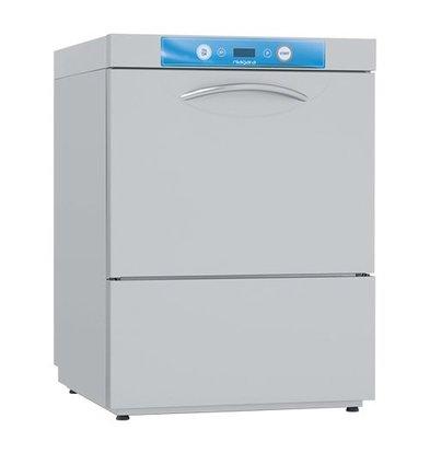 Elettrobar Spülmaschine | 50x50 | Edelstahl | 400V/5,4kW | 82(h)x60x60cm | Made in Italy