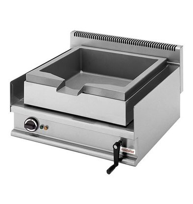 Modular Elektro-Kippbratpfanne | Modular | Rostfreiem Stahl | 400V/6,3kW | 28(h)x65x70cm