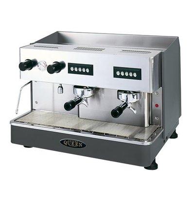 XXLselect Espressomaschine | Tassenwärmer oben und 12L Boiler