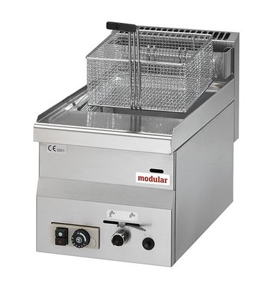 Modular Gas-Friteuse | 8L | 6,8 kW | 28(h)x60x30cm