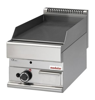 Modular Gas-Grillplatte | Modular | glatt | 28(h)x65x40cm
