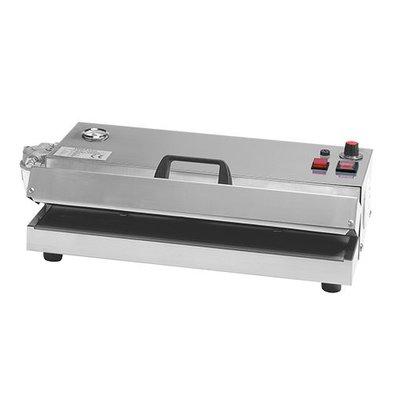 XXLselect Vakuumiermaschine | Saugvorrichtung 45cm | Gehäuse aus Edelstahl