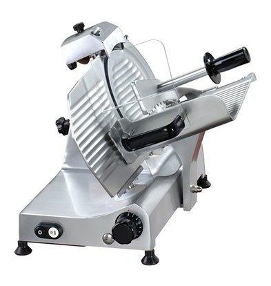 XXLselect Aufschnittmaschine | Ø220mm | Eloxierte Alu-Legierung | 230V-140W