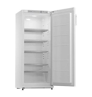 XXLselect Kühlschrank | Stahlblech Weiß | 5 Roste | Beleuchtung | 267L