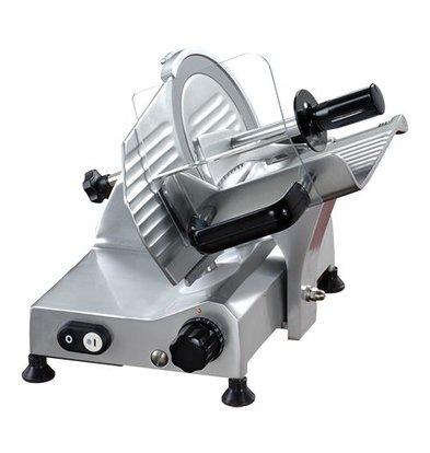 XXLselect Aufschnittmaschine | Ø195mm | Eloxierte Alu-Legierung | 230V-132W