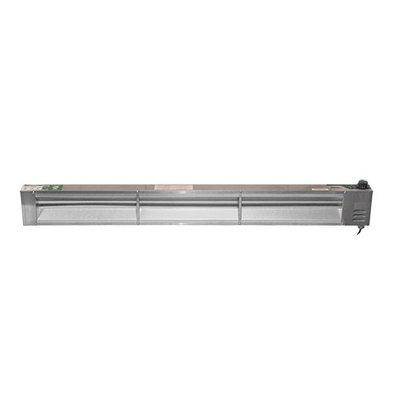 XXLselect Speisen-Wärmhaltestrahler | 137cm | 1400W