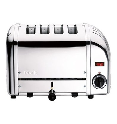 XXLselect Toaster   Toaster   Silber   4 Schlitze