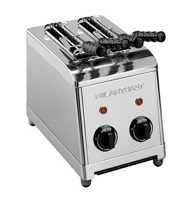 XXLselect Sandwich-Toaster | Edelstahl | 2 Schlitze