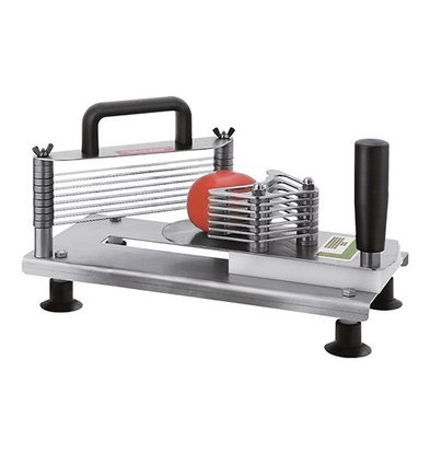 Tellier Tomatenschneider | Edelstahl | Schnittstärke 5,5mm | 18(h)x14x30cm