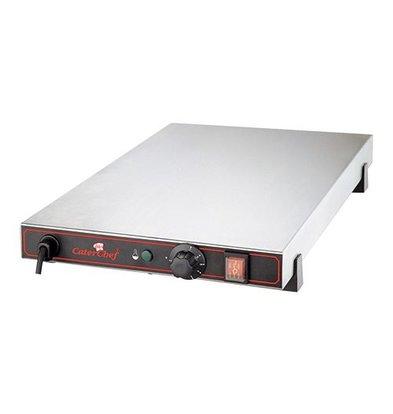 Caterchef Wärmeplatte | Edelstahl | 7(h)x62,5x40cm
