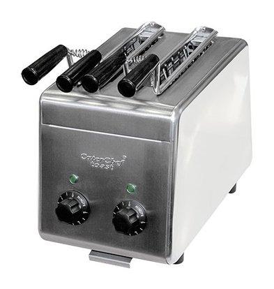 Caterchef Sandwich-Toaster | Edelstah | 2 Schlitze | 27,5(h)x31,5x19,5cm