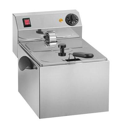 XXLselect Elektro-Friteuse   Sicherheit Thermostat   8L   30(h)x41x28cm