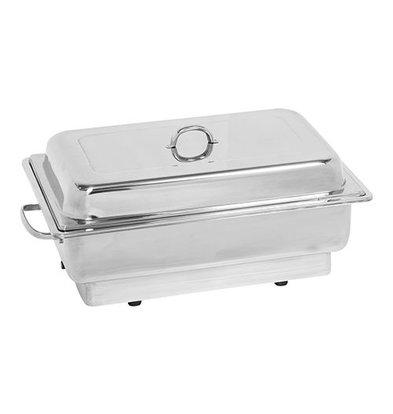 XXLselect Chafing Dish | Behälter und Deckel | Edelstahl | 1/1GN