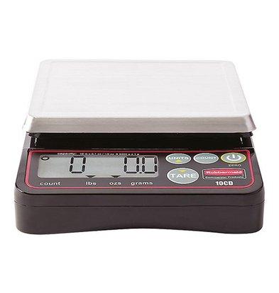 Rubbermaid Elektro-Waage | Edelstahlplatte | 5kg/1gr
