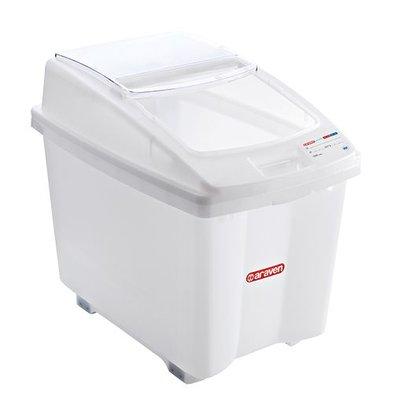 Araven Universal Behälter | Kunststoff | Weiß | 100L