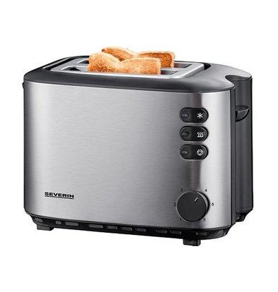 XXLselect Toaster | Edelstahl | 2 Schlize | 19(h)x16x27cm