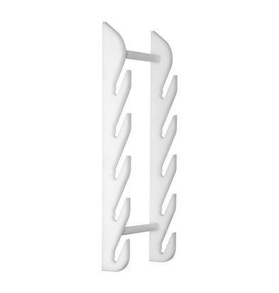 Caterchef Schneidebrett Ständer Wand   Weiß   für 6 Bretter