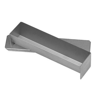 XXLselect Pasteten/Terrineform  mit Deckel   Edelstahl   30x7x6cm