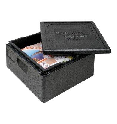 XXLselect Pizza Transportbehälter | Polypropylen | leicht/stapelbar | 350x350-265mm
