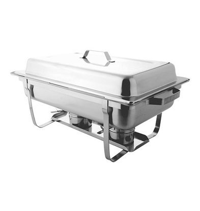 XXLselect Chafing Dish mit Deckel | Edelstahl | 1/1GN | Economy