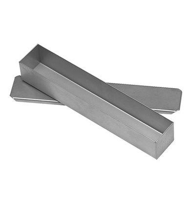 XXLselect Pasteten/Terrineform  mit Deckel | Edelstahl | 30x5x5cm