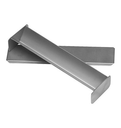 XXLselect Pasteten/Terrineform  mit Deckel   Edelstahl   30x6x4cm