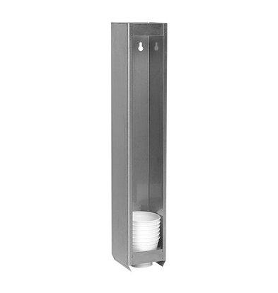 XXLselect Becherspender für Becher Ø7cm | Edelstahl
